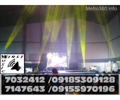 MOVING HEADS RENTAL PARTY DISCOLIGHTS LASER LED PAR MOOD LIGHTS@7032412,09155970196