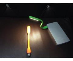 USB Bendable LED Light with Powerbank