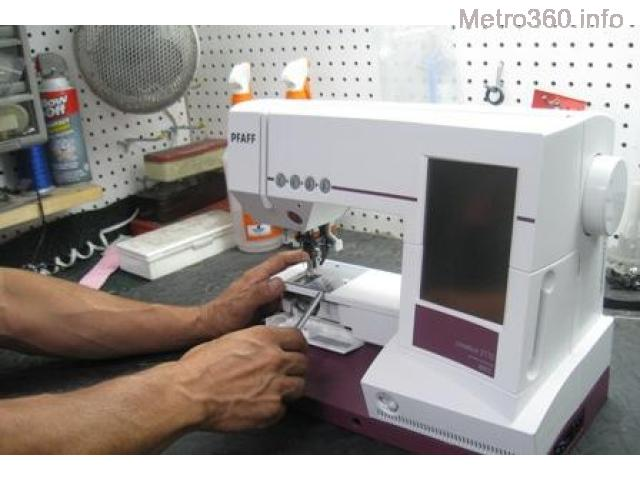 Sewing Machine Repair Services, Household & Industrial